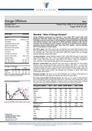 Songa Offshore - Fondsfinans