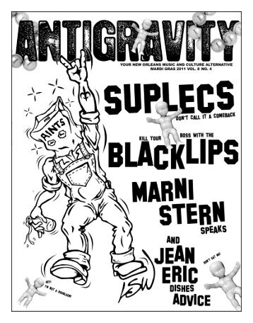 February 2011 (PDF) - Antigravity Magazine