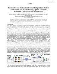 Terabit/Second Modulation Format Independent Optical Transmitter ...