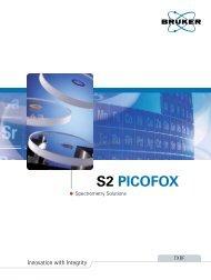 S2 PICOFOX Brochure (PDF) - Bruker