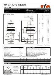HYVA 71503160 - FC 110-3-03205-000A-K0343 - dominga.lt