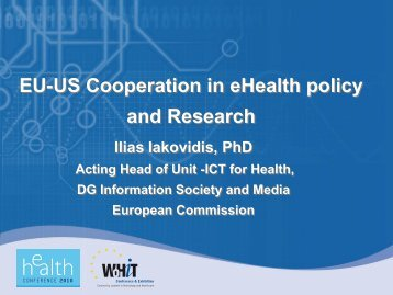 EU-US Cooperation on eHealth