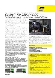 Caddy™ Tig 2200i AC/DC - Svejsehuset A/S