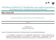 Real Decreto 2236/93, de 17 de Diciembre, que regula el ...