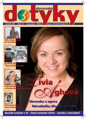 Slovenské dotyky 11 PDF - 3,1MB - Slováci vo svete
