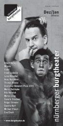 Dez/Jan 2010/11 - Nürnberger Burgtheater