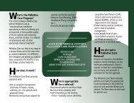 Palliative Care Brochure - Alice Hyde Medical Center