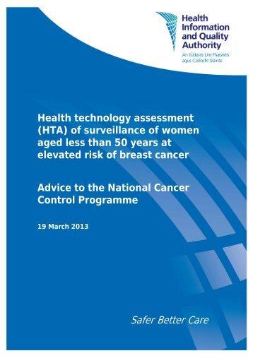 Safer Better Care - hiqa.ie