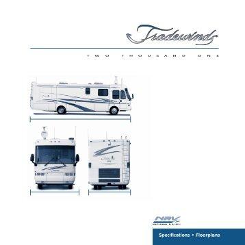 2001 Tradewinds Specs - Rvguidebook.com