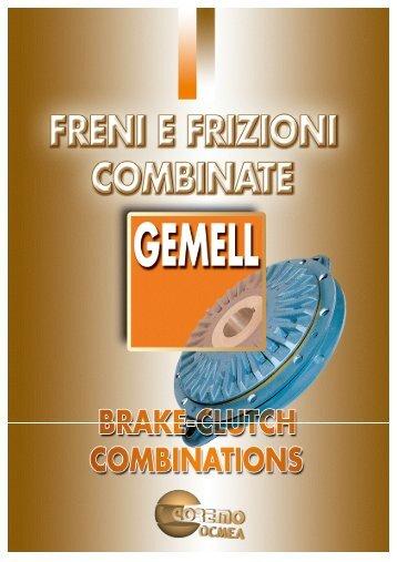 GEMELL CLUTCH BRAKES