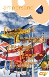 EU-CITIZENS INCLUDED - CD&V Brussel