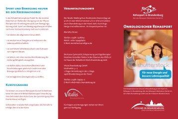 Onkologischer Rehasport - Meetingpoint Brandenburg