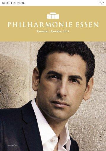 November | Dezember 2013 - Philharmonie Essen