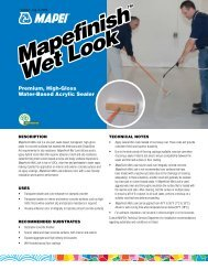 Mapefinish Wet Look Mapefinish Wet Look - AltaPaints and Coatings
