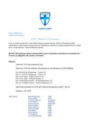 T98 kutsu - Suomen Palloliitto