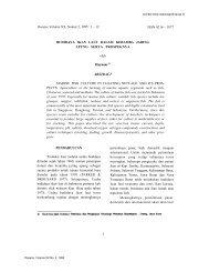 Oseana, Volume XX, Nomor 2, 1995 : 1 – 12 ISSN 0216 ... - Lipi