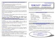 TERCIAN® - NOZINAN® - ADIPh