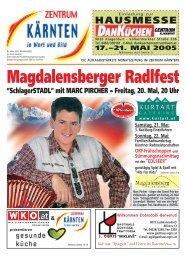Magdalensberger Radlfest - Zentrum Kärnten in Wort und Bild