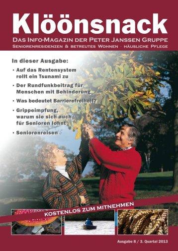 Das Info-Magazin der Peter Janssen Gruppe kostenlos zum ...