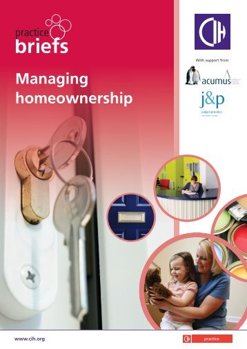 Managing home ownership - Chartered Institute of Housing