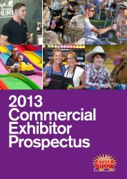Commercial Exhibitor Success - Sydney Royal Easter Show