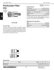 Metal Dixon GPA-95-223 Wilkerson Modular End Blocks 1//4 NPT for F16,F26,L16,L26,M16,M26,R16,R26