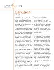 Salvation - Brethren in Christ Church
