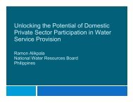Unlocking the Potential of Domestic Private Sector ... - WSP