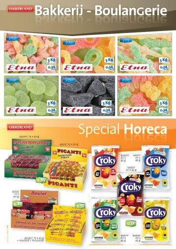 Bakkerij - Boulangerie Special Horeca - Lekkerland