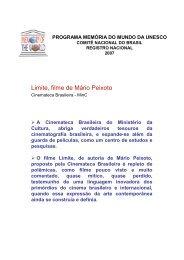 formulário para candidatura à nominação - Arquivo Nacional