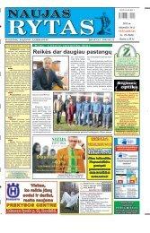 2011 m. balandžio 16 d. (Nr. 29) - Naujas rytas