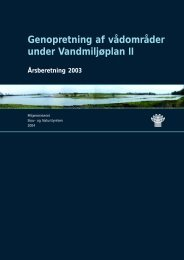 Årsberetning 2003 - Naturstyrelsen