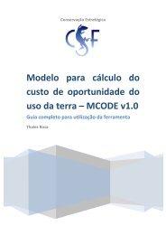 Guia Completo MCODE_v1.0 - Conservation Strategy Fund
