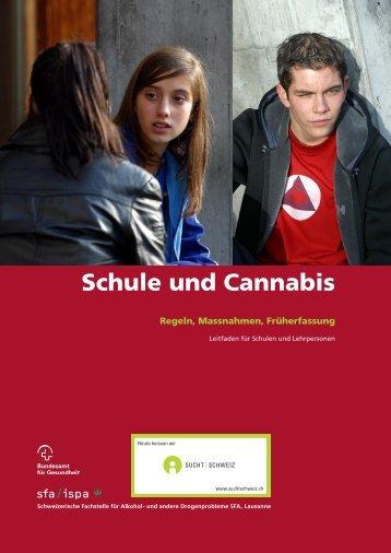 Schule und Cannabis - Sucht Schweiz