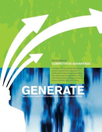 Download the Competitive Advantage Brochure - Daniel Burrus