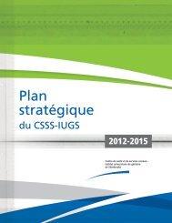 Plan stratégique - Csss-iugs.ca
