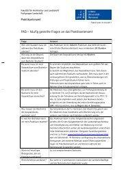 FAQ – häufig gestellte Fragen an das Praktikantenamt - Fakultät für ...