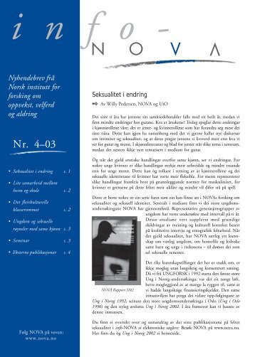 Nr 4, 2003 - Nova