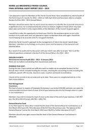 Final Audit Report April 2013.pdf - Herne & Broomfield Parish Council
