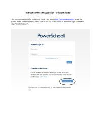Parent Portal Self-Registration Instructions
