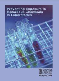 Oregon - OSHA Guide to Lab Standards - Environmental Health ...