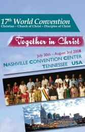Invitation - World Convention