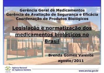 Legislação e normatização dos medicamentos ... - IPD-Farma