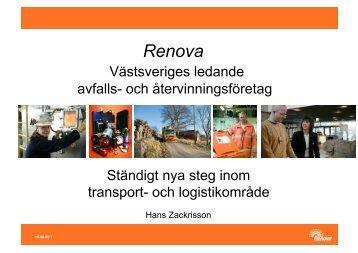 Hans Zackrisson - Avfall Sverige