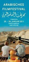 20. – 26. januar 2011 - Arabisches Filmfestival