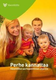 Perhepoliittinen ohjelma - Väestöliitto