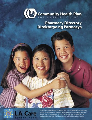 Pharmacy Directory - Los Angeles County Department of Health ...