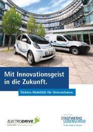 Produktkatalog Elektro-Mobilität im Abo - Stadtwerke Lüdenscheid
