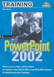 Powerpoint 2002 Training - Win-Seminar