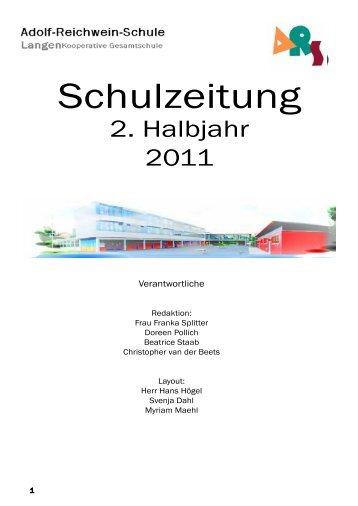 Schulzeitung - Adolf-Reichwein-Schule